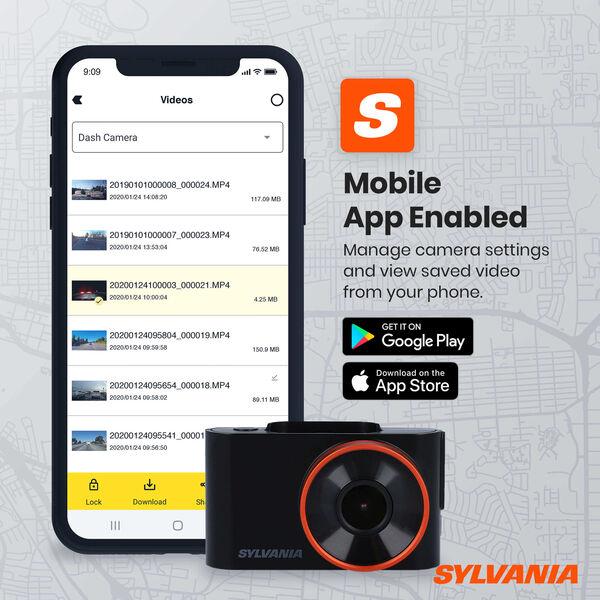 SYLVANIA Roadsight Pro Dash Camera, , hi-res