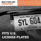SYLVANIA Universal License Plate Bracket, , hi-res