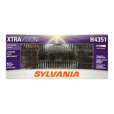 SYLVANIA H4351 XtraVision Sealed Beam Headlight, 1 Pack