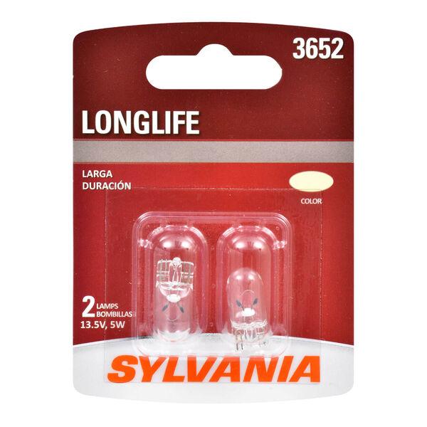 SYLVANIA 3652 Long Life Mini Bulb, 2 Pack, , hi-res