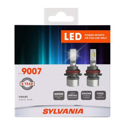 SYLVANIA 9007 LED Fog & Powersports Bulb, 2 Pack