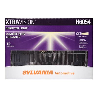 SYLVANIA H6054 XtraVision Sealed Beam Headlight, 1 Pack