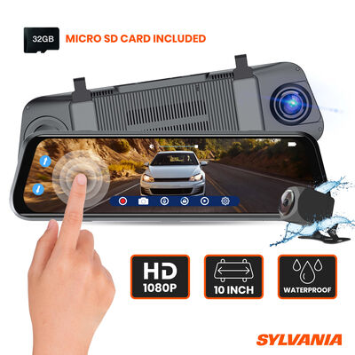 SYLVANIA Roadsight Mirror Dash Camera