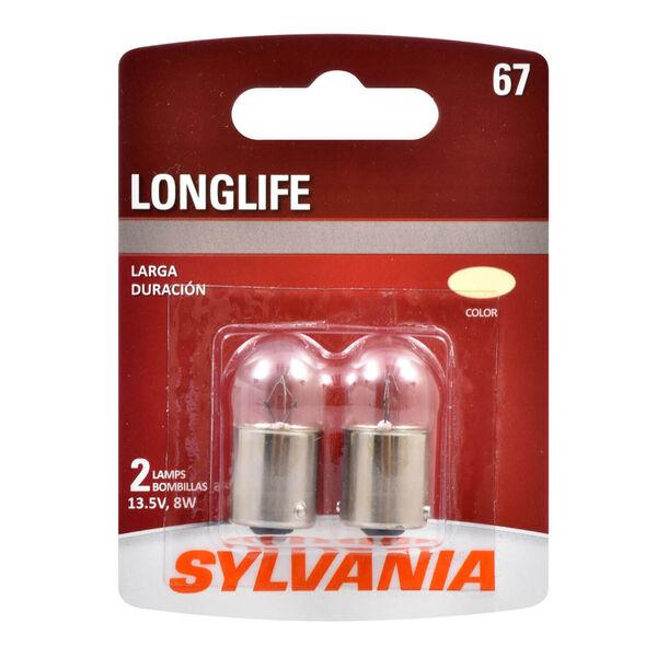 SYLVANIA 67 Long Life Mini Bulb, 2 Pack, , hi-res