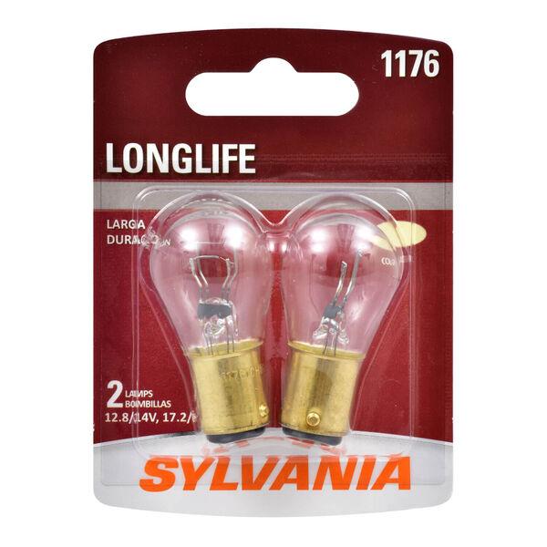 SYLVANIA 1176 Long Life Mini Bulb, 2 Pack, , hi-res