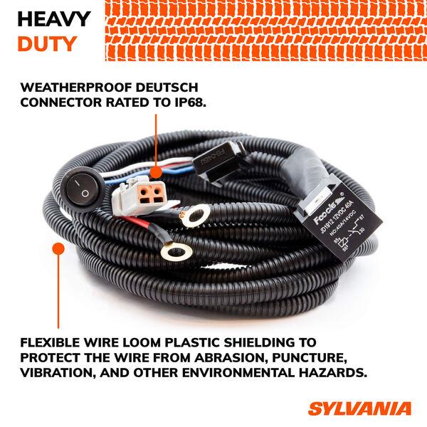 SYLVANIA Deutsch 1 Output LED Wiring Harness, , hi-res