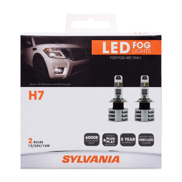 SYLVANIA H7 ZEVO LED Fog Bulb, 2 Pack, , hi-res