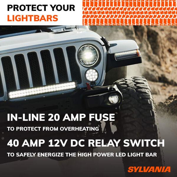SYLVANIA Dual Mode 1 Output LED Wiring Harness, , hi-res