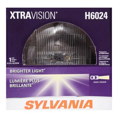 SYLVANIA H6024 XtraVision Sealed Beam Headlight, 1 Pack