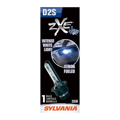 SYLVANIA D2S SilverStar zXe HID Headlight Bulb, 1 Pack