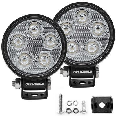 SYLVANIA Slim 3 Inch LED Pod Round - Spot