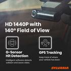 SYLVANIA Roadsight Stealth Dash Camera, , hi-res