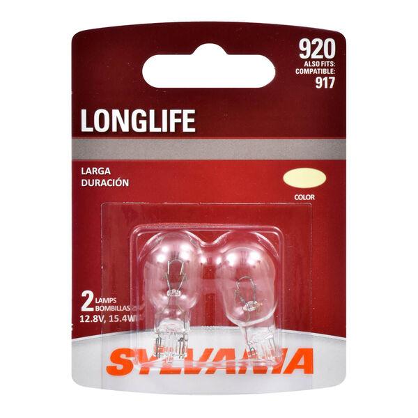 SYLVANIA 920 Long Life Mini Bulb, 2 Pack, , hi-res