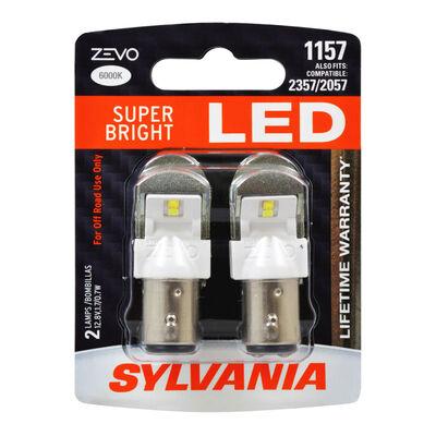 SYLVANIA 1157 WHITE ZEVO LED Mini, 2 Pack