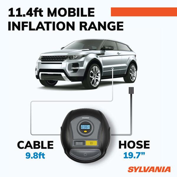 SYLVANIA PLUS Portable Tire Inflator, , hi-res