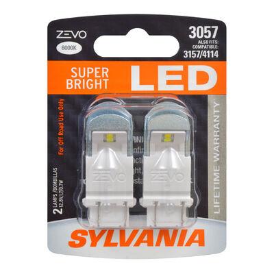 SYLVANIA 3057 WHITE ZEVO LED Mini, 2 Pack