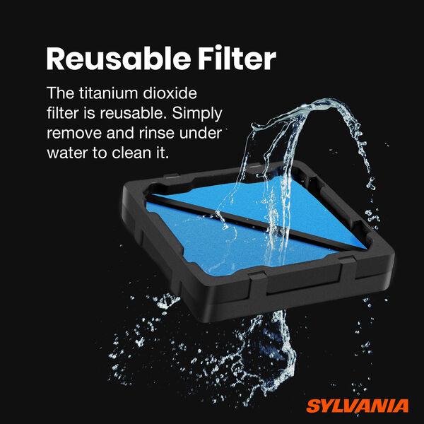 SYLVANIA Car UV Air Purifier, , hi-res