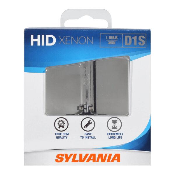 SYLVANIA D1S Basic HID Headlight Bulb, 1 Pack, , hi-res