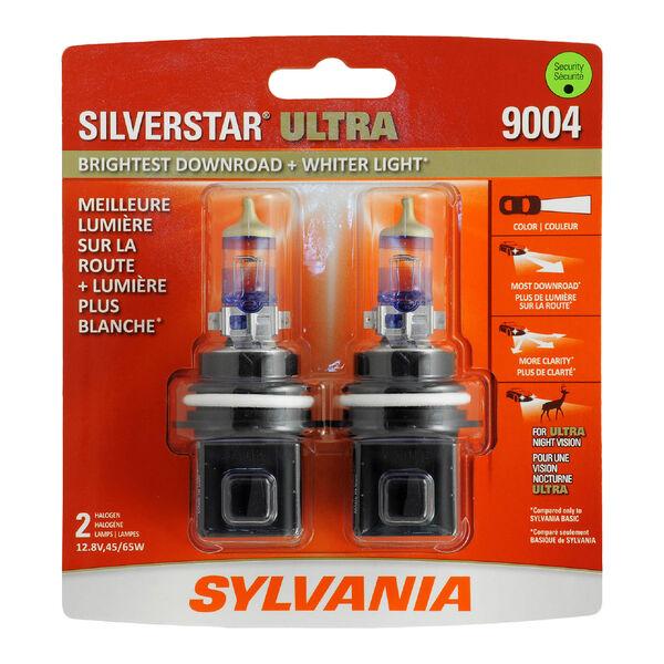 SYLVANIA 9004 SilverStar ULTRA Halogen Headlight Bulb, 2 Pack, , hi-res