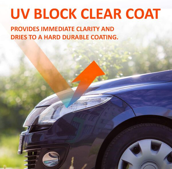 SYLVANIA UV Block Clear Coat Kit, , hi-res