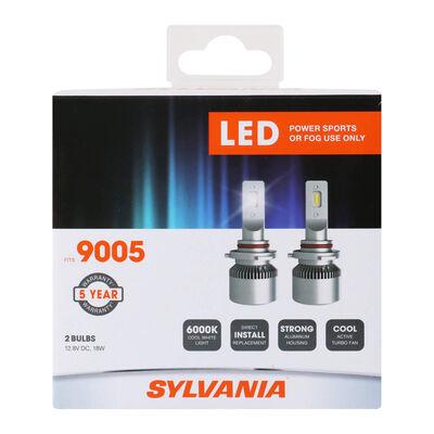 SYLVANIA 9005 LED Fog & Powersports Bulb, 2 Pack