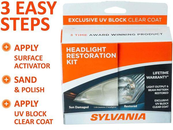 SYLVANIA Headlight Restoration Kit, , hi-res