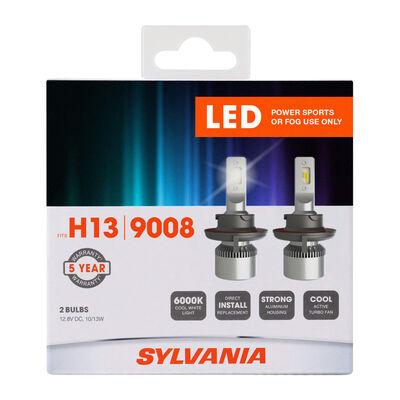 SYLVANIA H13 LED Fog & Powersports Bulb, 2 Pack