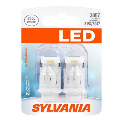 SYLVANIA 3057 WHITE SYL LED Mini Bulb, 2 Pack