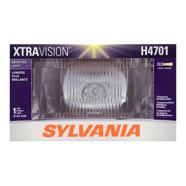 SYLVANIA H4701 XtraVision Sealed Beam Headlight, 1 Pack, , hi-res