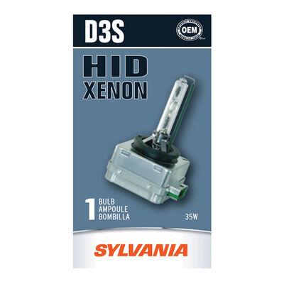 SYLVANIA D3S Basic HID Headlight Bulb, 1 Pack