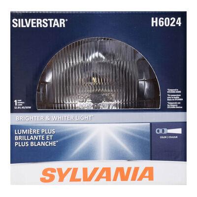 SYLVANIA H6024 SilverStar Sealed Beam Headlight, 1 Pack