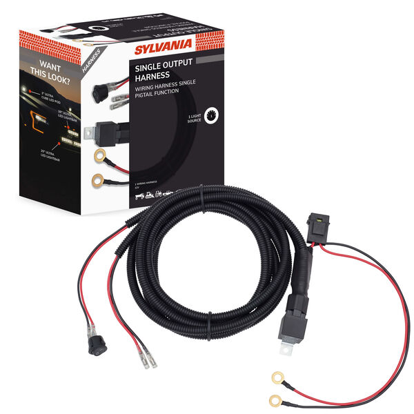 SYLVANIA Universal 1 Output LED Wiring Harness, , hi-res
