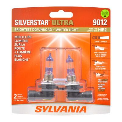 SYLVANIA 9012 SilverStar ULTRA Halogen Headlight Bulb, 2 Pack