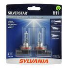 SYLVANIA H11 SilverStar Halogen Headlight Bulb, 2 Pack, , hi-res