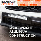 SYLVANIA Slim 12 Inch LED Light Bar - Universal License Plate Bracket, , hi-res