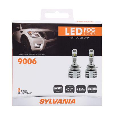 SYLVANIA 9006 ZEVO LED Fog, 2 Pack