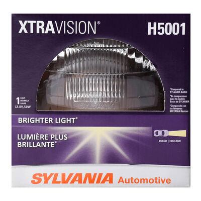 SYLVANIA H5001 XtraVision Sealed Beam Headlight, 1 Pack